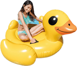 Yellow Duck Ride-On Yellow