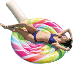 Lollipop Float Patterned