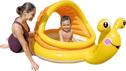 Lazy Snail Shade Baby Pool Yellow