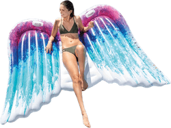 Angel Wings Mat Patterned