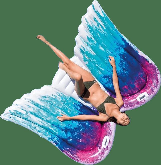 Angel Wings Mat Patterned