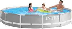 Prism FrameTM Pool Set White/Grey