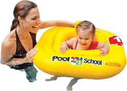 Deluxe Baby Float Pool School Step 1 Patterned