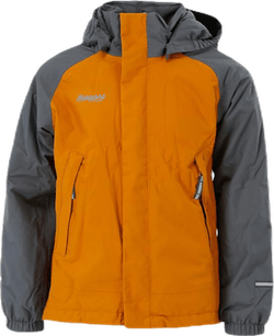 Storm Ins Kids Jacket 10 000 mm Grey/Yellow