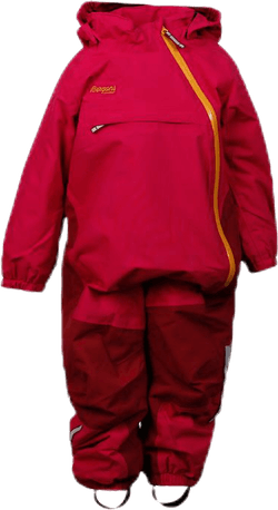 Snøtind Ins Kids Coverall Pink
