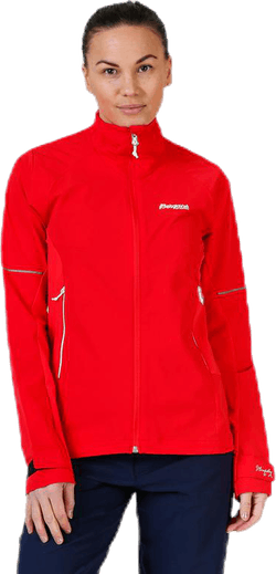 Slingsby LT Softshell Jacket White/Red