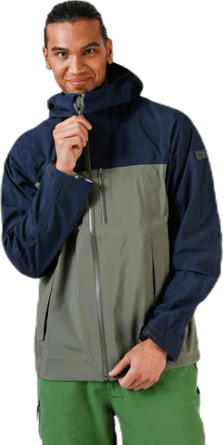 Oslo 3L LT Jacket Blue/Green
