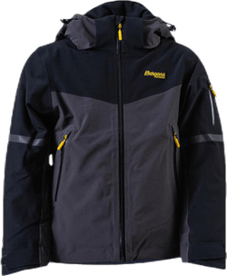 Oppdal Insulated Youth Jacket Black/Grey