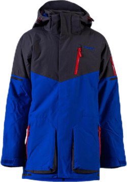 Knyken Insulated Youth Jacket Blue/Grey