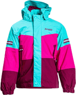 Lilletind Insulated Kids Jacket Pink/Green