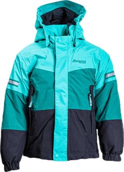 Lilletind Insulated Kids Jacket Green/Grey