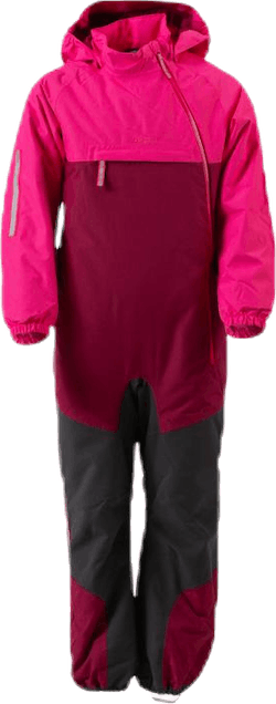Lilletind Insulated Kids Coverall Pink/Red
