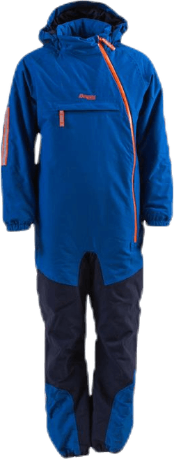 Lilletind Insulated Kids Coverall Blue/Orange