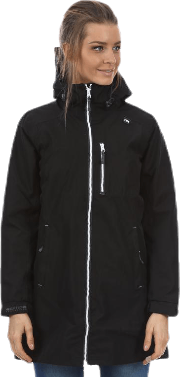 Long Belfast Jacket Black