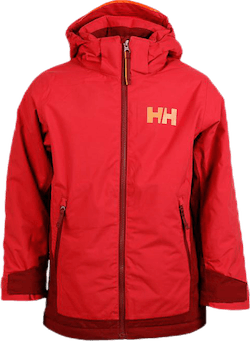 Hillside Ski Jacket Junior Red