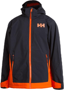 Hillside Ski Jacket Junior Orange/Grey