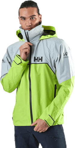 HP Foil Light Jacket Yellow