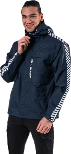 Vector Packable Rain Jacket Blue