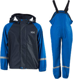 Kids Bergen PU Rainset Blue