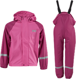 Kids Bergen PU Rainset Pink