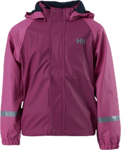 Kids Bergen Fleece PU Rainset Purple