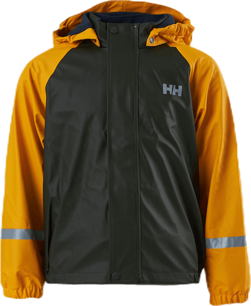 Kids Bergen Fleece PU Rainset Yellow