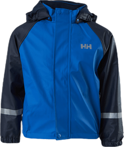 Kids Bergen Fleece PU Rainset Blue