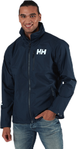 Active Hooded Midlayer Jacket Blue