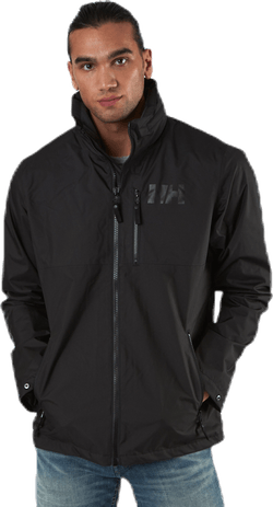 Active Hooded Midlayer Jacket Black