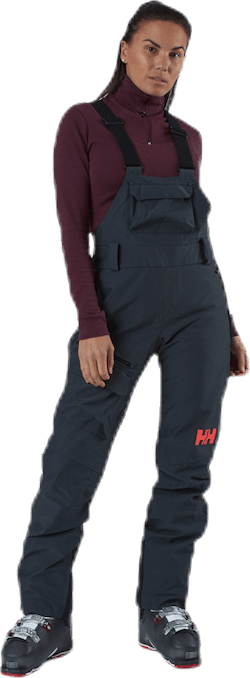 Powderqueen Bib Pant Grey