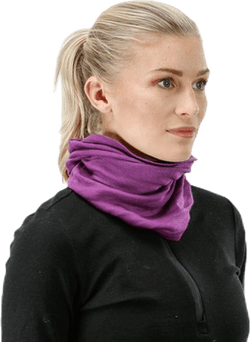 Solid Wool Tube Purple