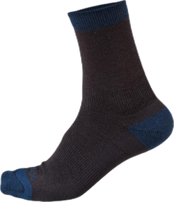 Retro Wool Sock 2pk Blue