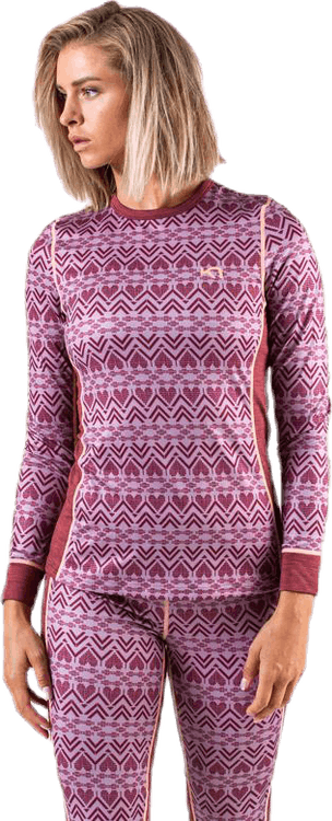 Lune L/S Pink/Red