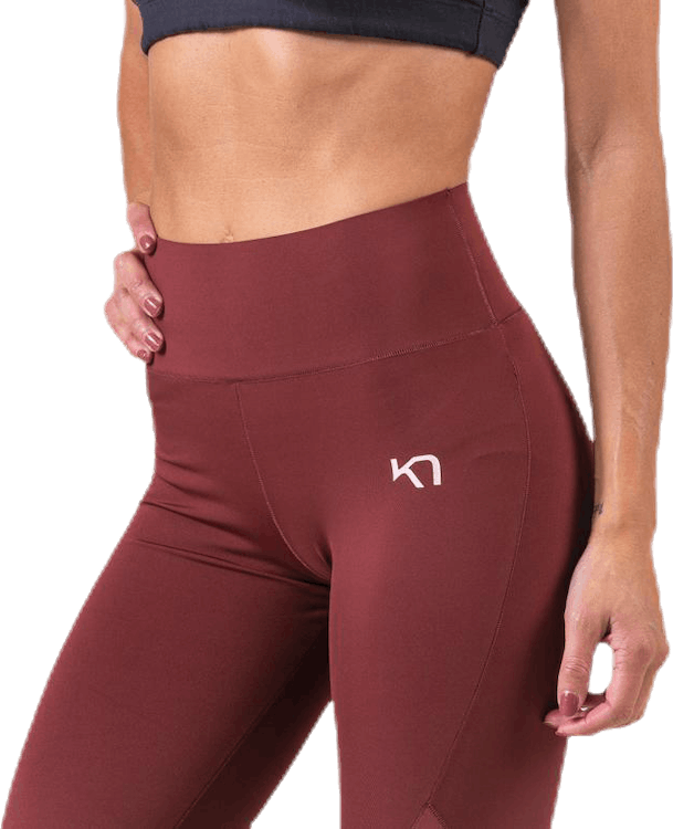 Kine Tights Red