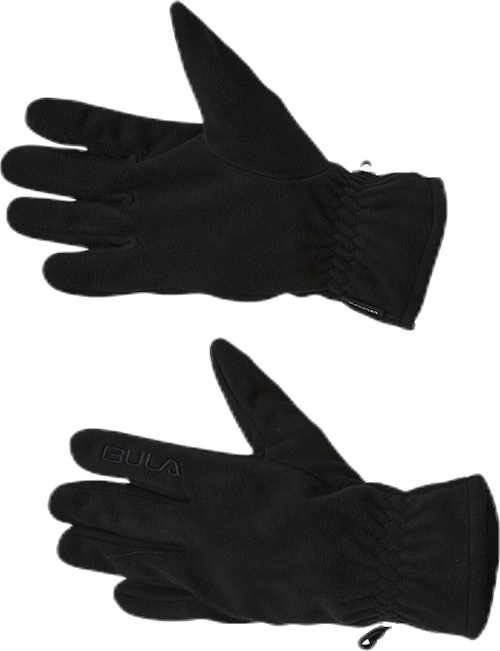 Bula Fleece Gloves  Black