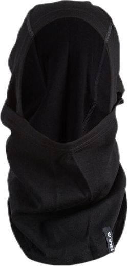 Wool Convertible Balaclava Black