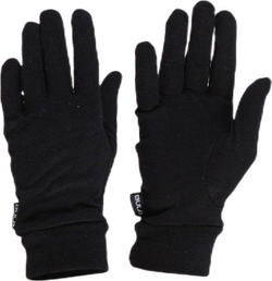 Wool Glove Liner  Black