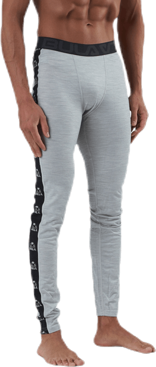 Tape Merino Wool Pants Grey