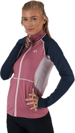 Mia Full Zip Shirt Pink