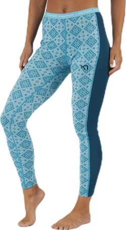 Rose Pant Blue/Turquoise