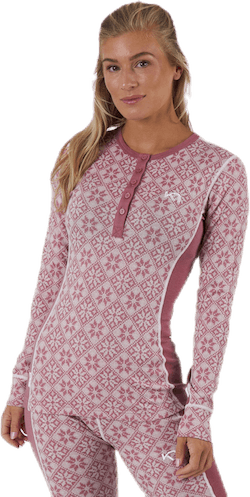 Rose Long Sleeve Shirt Pink