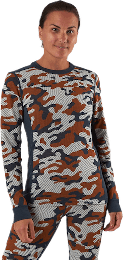 Kongle LS Patterned/Brown