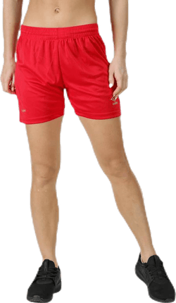 Core Shorts W Red