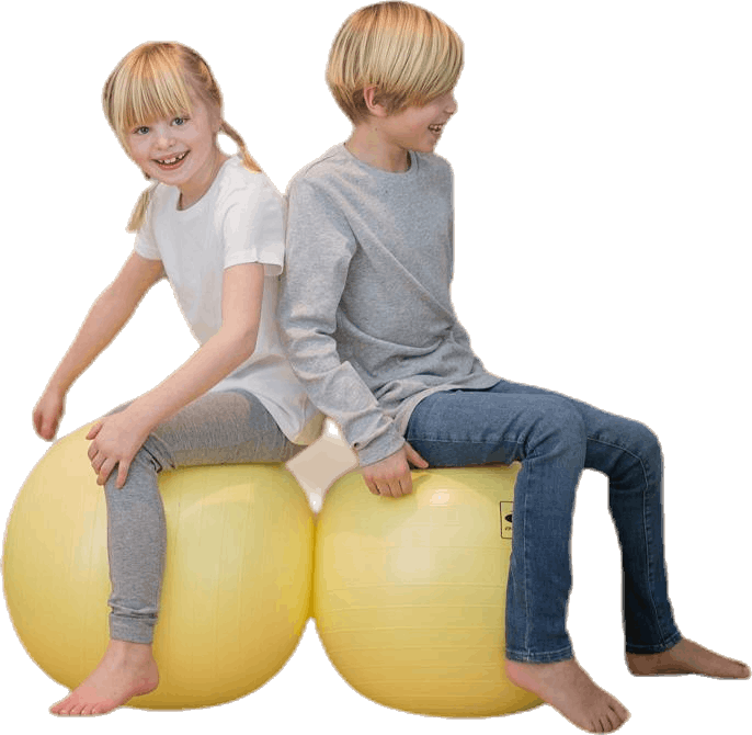 GymBall, 45 cm Yellow