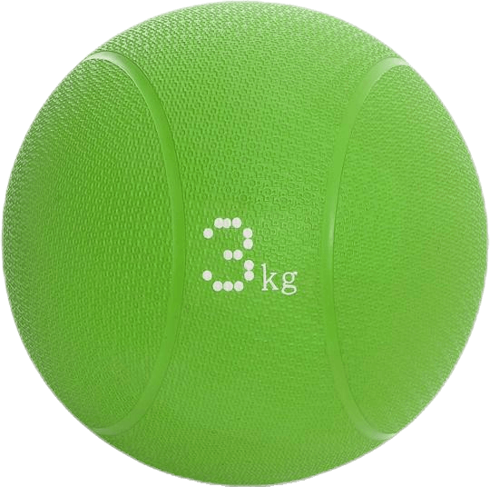Medicineball 3kg Green