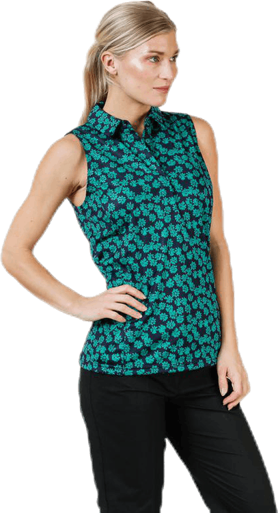 Dena Flower Print Patterned/Green