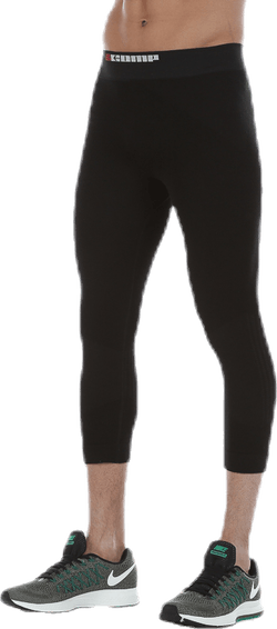 Wool Compression Tights Black