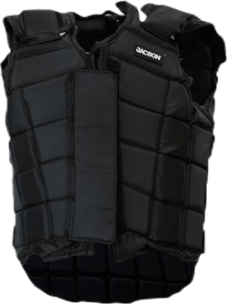 Safety Vest Jr Black
