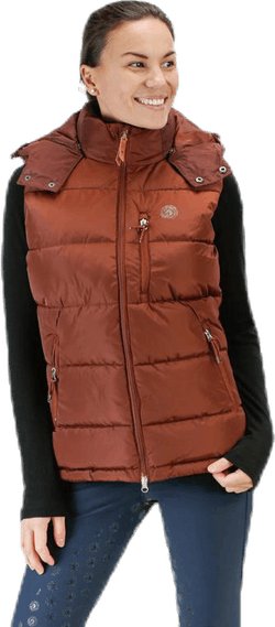 Vest Lexie Brown