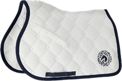 Sydney Saddle Pad Blue/White